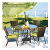 Agio International Co., Inc S5-ABC02400 StTropez 5PC Dining Set