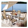 Agio International Co., Inc S7-BDC01000 Key West 7PC Dining Set