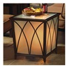 Agio International Co., Inc APC06310 LED ALU Side Table