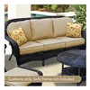 Chicago Wicker & Trading CO D-CUSH32803S-F510-P105-W SS 6PC BGE Sofa Cushion