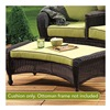 Chicago Wicker & Trading CO D-CUSH3280COT-P104/P105-W SS Kiw Curvotto Cushion