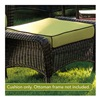Chicago Wicker & Trading CO D-CUSH3280O-P104/P105-W SS Kiwi Ottoman Cushion