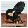 Chicago Wicker & Trading CO D-CUSH3280RDC-F510-P105-W SS BGE Rocker Cushion