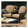 Chicago Wicker & Trading CO D-CUSH3280TAT-F510-P105-W SS 4PC BGE Tete Cushion