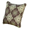 Chicago Wicker & Trading CO D-CUSHTH16-F511 SS GRN/BRN Pillow