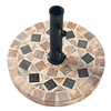 "Outdoor Interiors Llc 46920TM 20""Marble Umbrella Base"