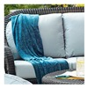 Chicago Wicker & Trading CO D-CUSH3280LS-F523 SS 4PC BLU Sett Cushion