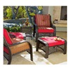 Chicago Wicker & Trading CO GF135-SET-TV-P098 Savannah 5PC Wicker Set