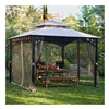 Sunjoy Industries L-GZ492PST-A 10x10 Tiki Gazebo/Net