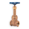 Nibco T111 21/2 Gate Valve, 2 1/2 In FNPT, Bronze, 125 PSI