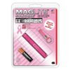 Mag-Lite K3AMW6K Flashlight, 1 AAA, Pink, Solitaire
