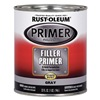 Rust-Oleum 254863 Filler Primer, Gray, 1 Qt.