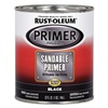 Rust-Oleum 254862 Filler Primer Black, 1  Qt