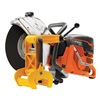 Husqvarna K1260RAIL Power Cutter, 2-Cycle, Wet/Dry Cut, 7.8 HP