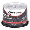 Innovera IVR46850 DVD+R, 4.7GB, PK50