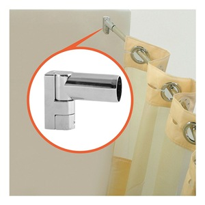 WINGITS Shower Rod, Curved, 57-3/4In L, 9In Bow, PK6 at Sears.com