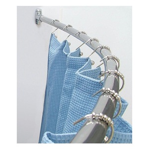 WINGITS Shower Rod, Curved, 57-3/4In L, 6In Bow, PK6 at Sears.com