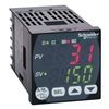 Schneider Electric REG48PUN2RHU Temp Ctrl, 2 EMR, 100/240 VAC, 1/16DIN, Mod