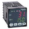 Schneider Electric REG48PUN2RLU Temp Ctrl, 2 EMR, 24 VAC/VDC, 1/16DIN, Mod