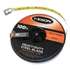 Keson ST10018M Measuring Tape, 100 ft/30Mx3/8 In, Ft./In.