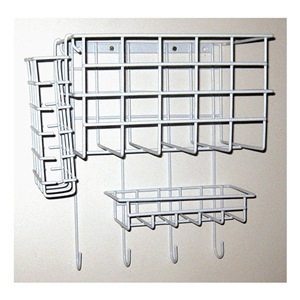 NOVUS PRODUCTS Wall Mount Wire Rack, 10-1/2 In. L at Sears.com