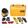 Johnson 40-6529 Rotary Laser Level, 1500 ft. Dia., Red