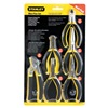 Stanley 84-079 Plier Set, Serrated, Black, 6 Pc