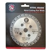 Bn Products Usa RB-BNCE-NH Replacement Saw Blade, w/o Hub, For 10H742