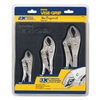 Irwin Vise-Grip 4935580 Locking Plier Set, 6C661, 4JA64, 10J875, 3Pc