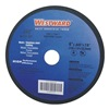 Westward 10N244 Cut Off Wheel, 3x1/16x3/8, AO, Black
