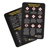 Ghs Safety GHS1015 GHS Wallet Cards (50/pkg)