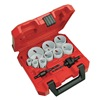Milwaukee 49-22-4025 Hole Saw Kit, Ice Hard, 1-5/8 In, 13 Pc