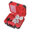 Milwaukee 49-22-4175 Hole Saw Kit, Ice Hard, 1-5/8 In, 15 Pc