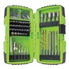 Greenlee DDKIT-1-68 Electricians Drill Driver Kit, 68 Pc