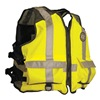 Mustang Survival MV1254 T3 2XL/3XL Mesh Life Vest, Yellow/Green, 2XL/3XL