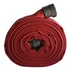 Armored Textiles G51H175LNR100N Attack Line Fire Hose, Dia. 1-3/4 In., Red
