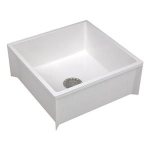 Mustee 65M Mop Sink, Fiberglass, 36x24x10In, White Be the first to ...