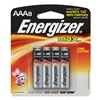 Energizer E92MP-8 Battery, AAA, Alkaline, PK 8