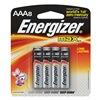 Energizer E92MP-8 Battery, AAA, Alkaline, PK 8