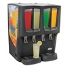 Crathco C-4D-16 Mini-Quattro Cold Beverage Dispenser, Premix, 4 Bowls