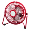 "Foshan Guanmei Electrical Co HVF4-RPRED WP 4"" RED HiVeloc Fan"