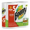 Procter & Gamble 88231 Bounty2PK WHT Pap Towel, Pack of 6