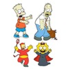 Product Works Llc 42603 6c10 LG Simpsons Clings, Pack of 60