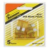 Cooper Bussmann BP-ATC-20-RP 5PK 20A Yellow Auto Fuse, Pack of 5