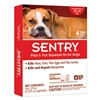 Sergeants Pet Care Prod 02422 Sent 4CT 66LB Flea/Tick