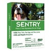 Sergeants Pet Care Prod 2365 Sent 4CT 67LB Flea/Tick