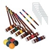 Franklin Sports Industry 3332S1/06 Intermediat Croquet Set