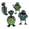 Garden Meadow Inc 1387GEM Solar Gem Turtles/Frogs, Pack of 4
