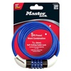Master Lock 8152ASTWD 5' Bike Cable/Combination Lock