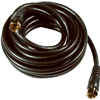 Philips Accessories & SWV2236/17 12' Black RG6 Coaxial Cable